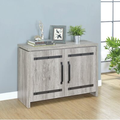 Daugherty 2 Door Accent Cabinet