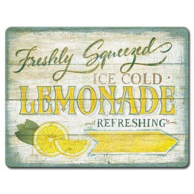 Freshly Squeezed Lemonade Glass Cutting Board