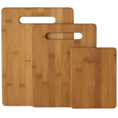 Bunnell 3 Piece Bamboo Cutting Board Set