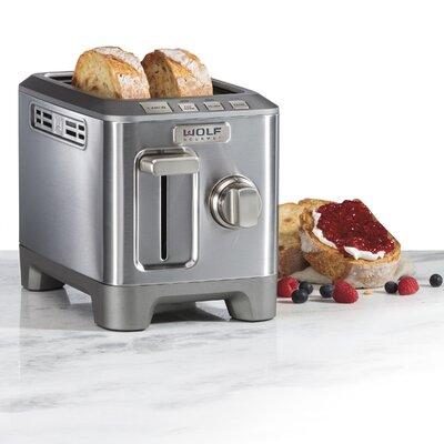 2 Slice Toaster Finish: Gray