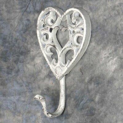 Emmaus Cast Iron Heart Wall Hook