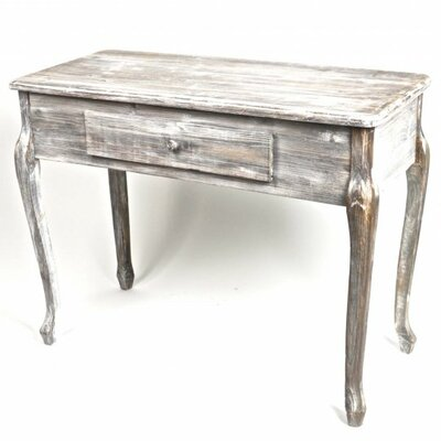 Fieldsboro Wooden Console Table with Drawer Color: Gray