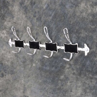 Fae Metal Wall Mounted Coat Rack