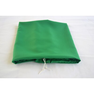 """Tablecloth Size: 96"""" W x 30"""" L, Color: Kelly Green"""