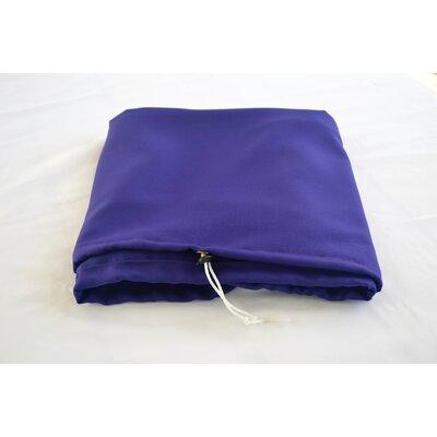"""Tablecloth Size: 72"""" W x 36"""" L, Color: Purple"""