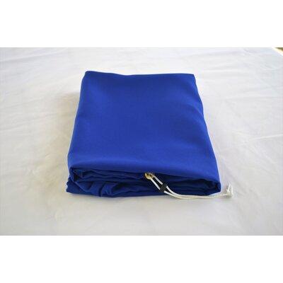 """Tablecloth Size: 72"""" W x 30"""" L, Color: Royal Blue"""