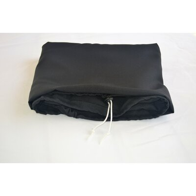 """Tablecloth Size: 72"""" W x 36"""" L, Color: Black"""