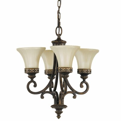 Feiss Drawing Room 4 Light Chandelier