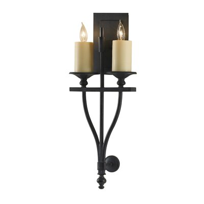 Feiss King''s Table 2 Light Wall Sconce