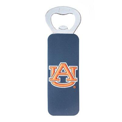NCAA PVC Magnetic Bottle Opener NCAA Team: Auburn University