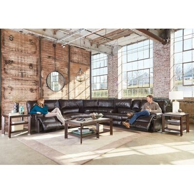 Wembley No Motion Recliner Body Fabric: Chocolate, Reclining Type: Power, Lumbar Support: No