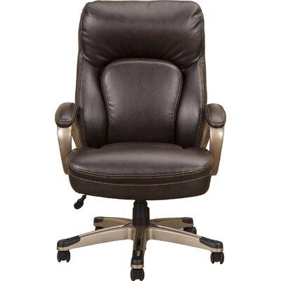 Alverta Executive Chair Color: Brown