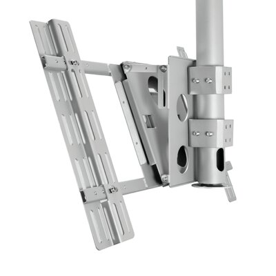 B-tech Tiltable Pole Mount for Flat Panel Screens