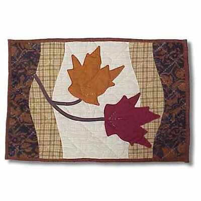 Patch Magic Autumn Leaves Placemat