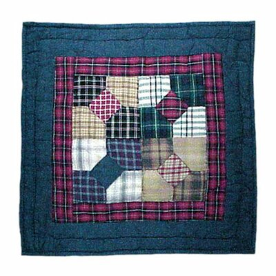 Patch Magic Bow Tie Cotton Throw Pillow