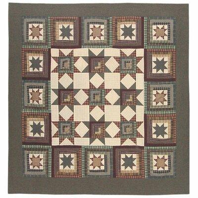 Patch Magic Cottage Star Cotton Shower Curtain