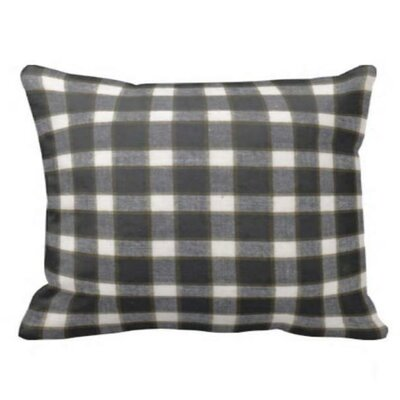 Patch Magic Black White and Brown Pillow Sham