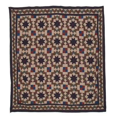 Patch Magic Star Light Cotton Shower Curtain