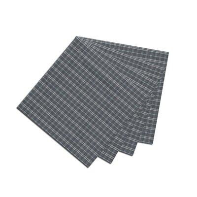 Patch Magic Blue and White Plaid Fabric Napkin