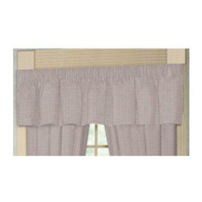 """Patch Magic Ladybug Rod Pocket 54"""" Curtain Valance"""