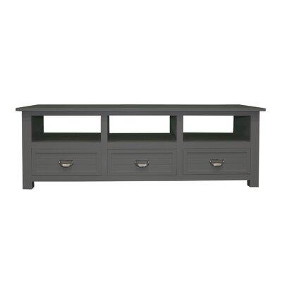 "Pfeffer Media 52"" TV Stand Color: Dark Gray"