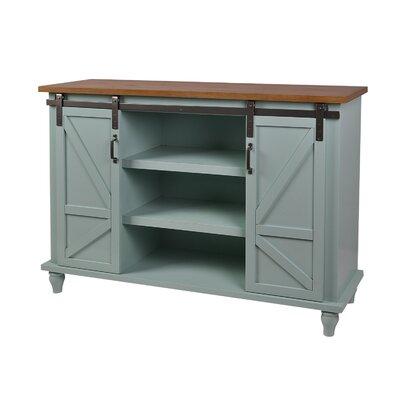 Philson Slider Storage Cabinet Color: Soft Green