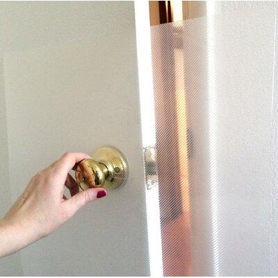Door and Door Frame Scratch Shield Installation Accessory