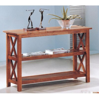 Boutwell Console Table Color: Brown