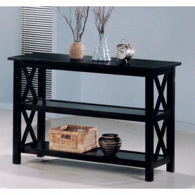 Boutwell Console Table Color: Deep Merlot