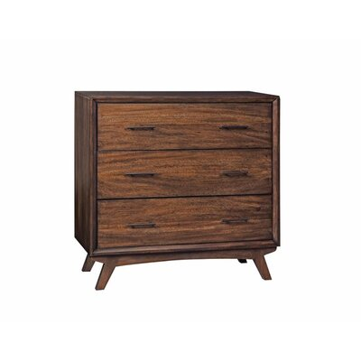 Sherrod 3 Drawer Accent Chest