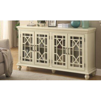 Caro Accent Cabinet Color: White