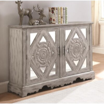 Claypoole 2 Door Accent Cabinet