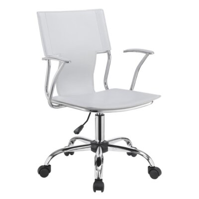 Downen Office Chair Color: White