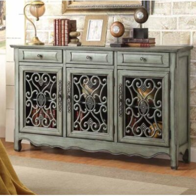 Crittenden 3 Door Accent Cabinet