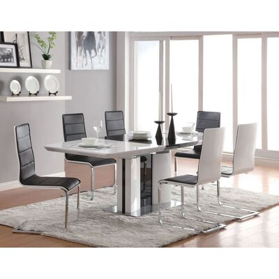 Overkamp 9 Piece Extendable Dining Set