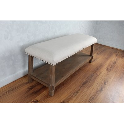Bethzy Upholstered Storage Bench