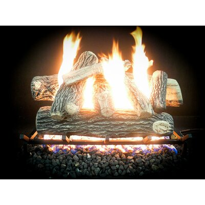 "Complete Great NW Propane Gas Log Kit Size: 10"" H x 18"" W x 13"