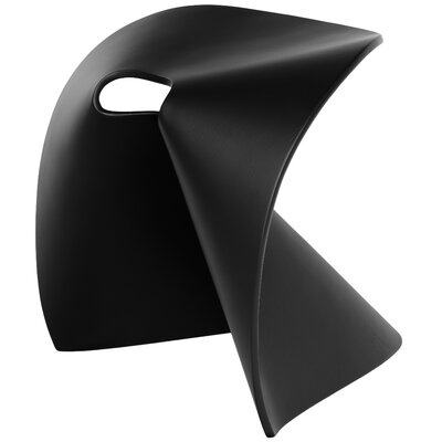 Fortune Accent Stool Color: Black