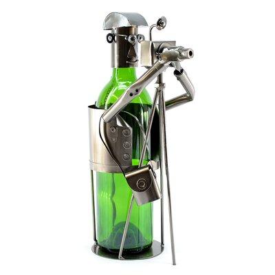 Photographer 1 Bottle Tabletop Wine Rack