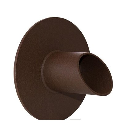 Waverly Stainless Steel Round Water Spout Finish: Brown