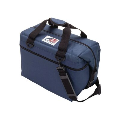 24 Can Canvas Cooler Color: Navy Blue