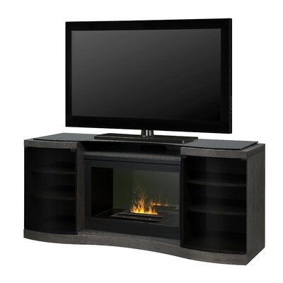 """Quintus Opti-Myst 73"""" TV Stand with Fireplace"""