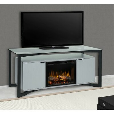 """Christian 70"""" TV Stand with Fireplace Firebox Type: Realogs (XHD)"""