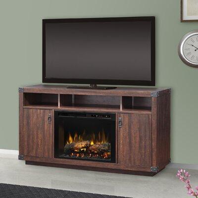 "Firebox 59.375"" TV Stand with Fireplace Firebox Type: Realogs (XHD)"