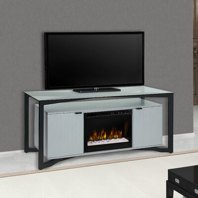 """Christian 70"""" TV Stand with Fireplace Firebox Type: Acrylic Ice (XHD)"""