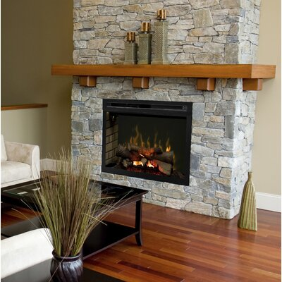 Multi-Fire XD Wall Mounted Electric Fireplace Insert Insert Style: Realog