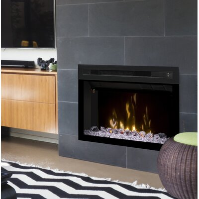 Multi-Fire XD Wall Mounted Electric Fireplace Insert Style: Acrylic Ice