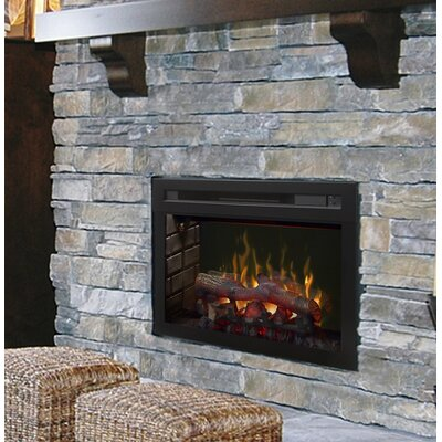 Multi-Fire XD Wall Mounted Electric Fireplace Insert Style: Realogs