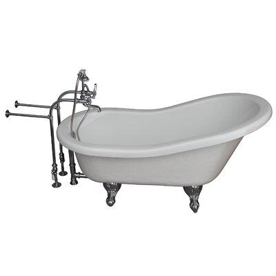"Tub Kit 24.5"" x 60"" Bathtub Color: Chrome"