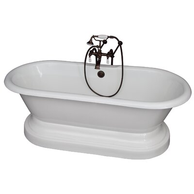 "67"" x 31"" Soaking Bathtub Kit Color: Oil Rubbed Bronze"